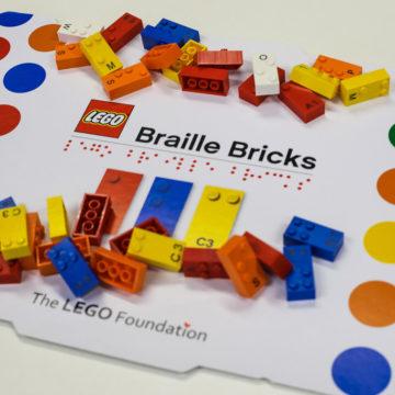 LEGO® Braille Bricks come strumento di inclusione nell'infanzia