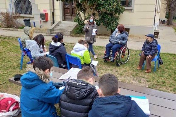 """""""Nei tuoi panni"""": intervista doppia degli studenti della Scuola Primaria Zorutti a William Del Negro e Annalisa Noacco"""